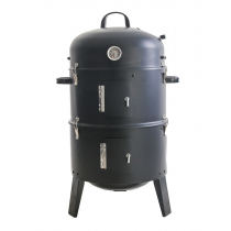 Kiwi Style 3 Way Smoker BBQ Steamer Multi Cooker
