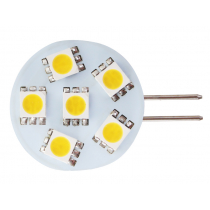 6 LED G4 Bulb with Side Pin Warm White