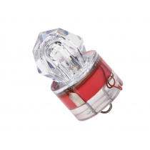 Underwater Diamond LED Strobe Light Red