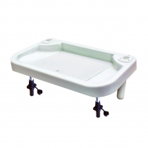 Oceansouth Extra Large Bait Board with Sink Rail Mount suits 25mm Rails