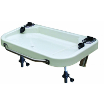 Oceansouth Extra Large Heavy Duty Bait Board with Stainless Steel Handles and Rod Holders