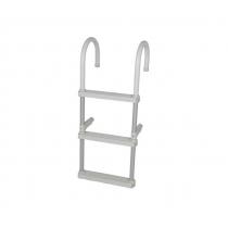 Oceansouth Lightweight Aluminium 3-Step Ladder
