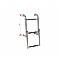 Oceansouth Long Base Stainless Steel Ladders