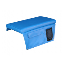 Oceansouth Boat Seat Cushion with Pocket Blue