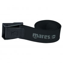 Mares Elastic Dive Belt with Nylon Buckle Black