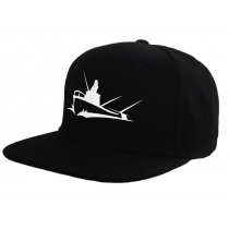 Marine Deals Fishing Snapback Cap - Screen-printed