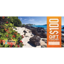Marine Deals $100 Gift Voucher with Sleeve - Pohutukawa