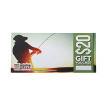 Marine Deals $20 Gift Voucher with Sleeve - Tight Lines