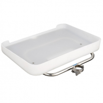Manta Medium Bait Station with Drain Board fits 2in 50.8mm Ski Clamp