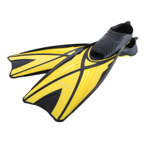 Mirage Fathom Snorkelling Fins Yellow Small