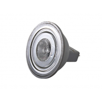 LED MR16 Bulb Aluminium Cool White 1 x 1 Watt