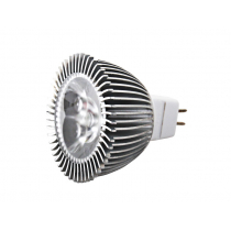 High Powered MR16 LED Bulb Daylight White 3 x 1W
