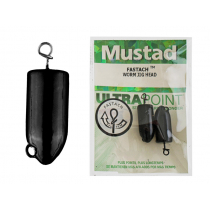 Mustad Fastach Worm Jig Head Weights