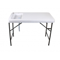 Collapsible Filleting Table with Sink 1145 x 590 x 950mm