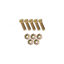 AL-KO Plated Trailer Wheel Studs and Nuts Kit 7/16in