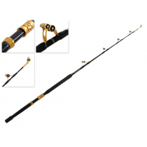 Okuma Makaira Stand-Up Game Rod with ALPS Bearing Rollers Black/Gold 5ft 8in 24kg 1pc