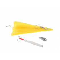 Sea Harvester Triangle Trolling Paravane Yellow