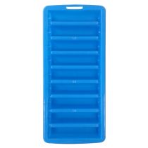 Water Bottle Ice Cube Tray Blue Qty 3