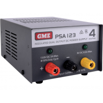 GME PSA123 4 Amp Regulated DC Power Supply