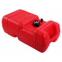 Outboard Fuel Tank with Optional Fittings 22L