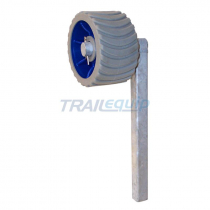 Trailparts Single Wobble Roller Stand No Rollers