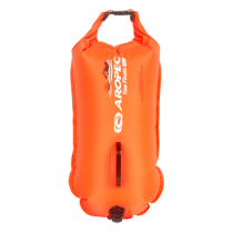 Aropec Watersport Double Airbag Training Float and Dry Bag 28L Orange