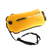 Aropec Watersport Double Airbag Training Float and Dry Bag 28L Yellow