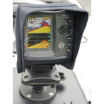 Rob Fort Fishfinder Cover with Shade Visor for Kayaks