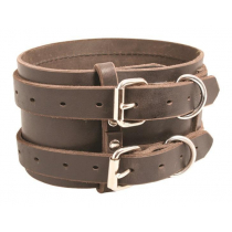 Ridgeline Deluxe Pig Dog Leather Rip Collar