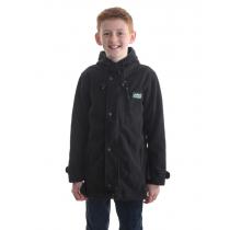 Ridgeline Kids Cub Fleece Jacket Black 8