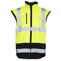 Ridgeline Tradies Safety Vest Yellow