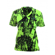 Ridgeline Womens Heartland T-Shirt Yellow Camo Medium