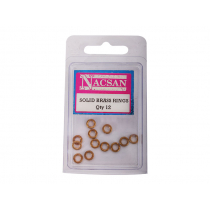 Solid Brass Rings 12pc