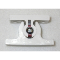 Door Open Retainer - White Square