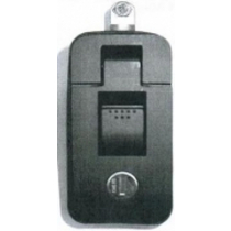 Flush Locker Latch - with Lock (Large)