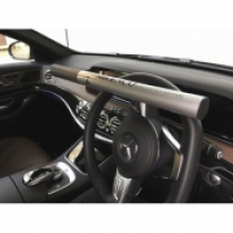 Silver Steering Wheel Lock