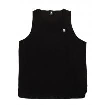 Swanndri Mens Shearers Fleece Singlet Black 3XL