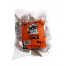 Salty Dog Free Flow Squid 1kg Small