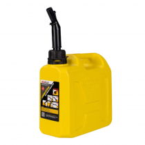 Seaflo Auto Shut-Off Diesel Tank 5L Yellow