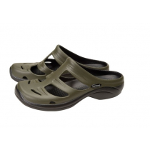 Shimano Evair Boat Sandals Green/Black US9