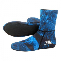 Aropec Mens Spearfishing Dive Socks Camo Blue 2mm