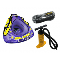 Ron Marks Slingshot Ski Tube with Tow Rope and Pump