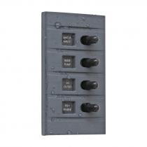 Connex 4 Way Backlit Marine Switch Panel