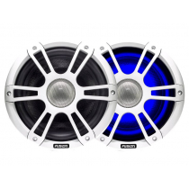 Fusion Signature 2-Way Coaxial Sports White Marine Speakers with LED 6.5'' 230W