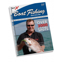 Spot X Boat Fishing New Zealand Book 2nd Edition