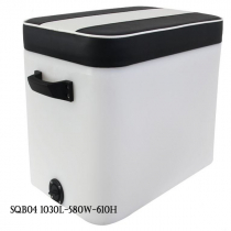 Hi-Tech Heavy Duty Fish Chilly Bin with Comfort Seat 300L