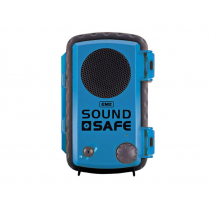 GME SoundSafe Waterproof Phone Case with Speaker Blue