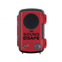 GME SoundSafe Waterproof Phone Case with Speaker Red
