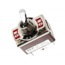Waterproof Series Accessory - On/Off/On DPdt - 12V 20A Toggle Switch