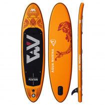 Aqua Marina Fusion All-Around Inflatable Stand Up Paddle Board 10ft 4in